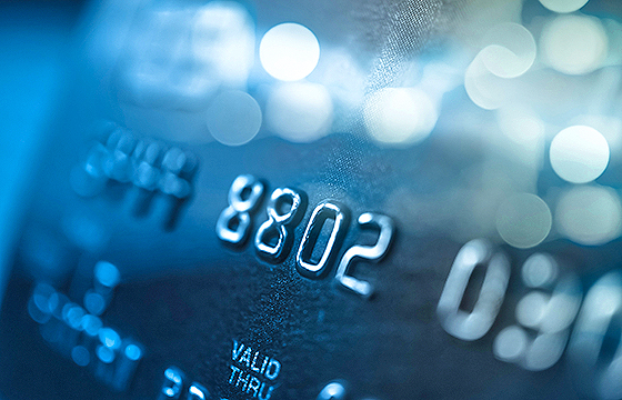 credit or debit card detail