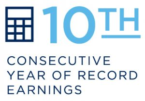 10 years earnings