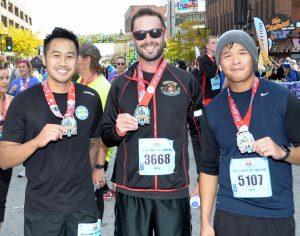 Bankers Trust employees at Des Moines Marathon
